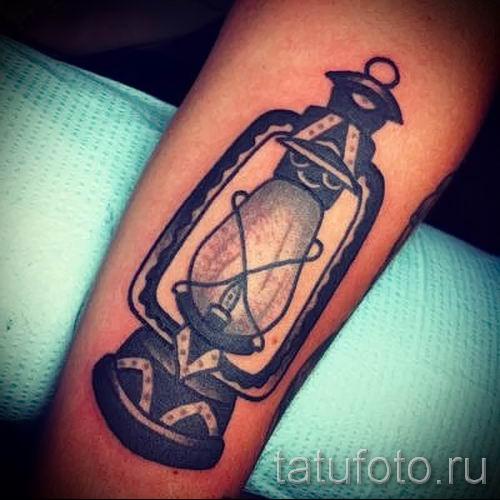 Фото тату фонарь для статьи про значение татуировки с фонарем - tatufoto.ru - 37