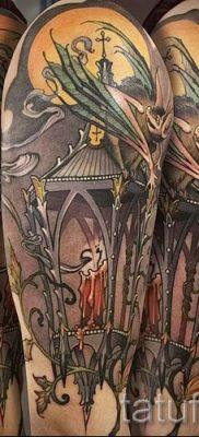 Фото тату фонарь для статьи про значение татуировки с фонарем – tatufoto.ru – 42