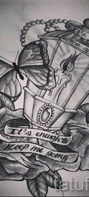 Фото тату фонарь для статьи про значение татуировки с фонарем – tatufoto.ru – 46