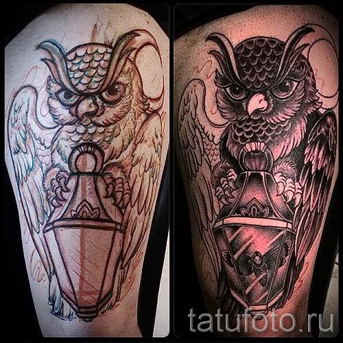 Фото тату фонарь для статьи про значение татуировки с фонарем - tatufoto.ru - 56
