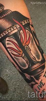 Фото тату фонарь для статьи про значение татуировки с фонарем – tatufoto.ru – 58