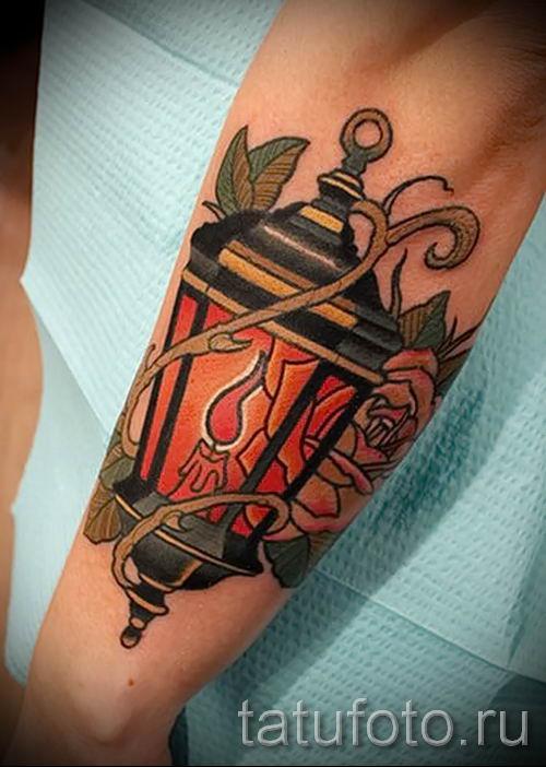 Фото тату фонарь для статьи про значение татуировки с фонарем - tatufoto.ru - 60