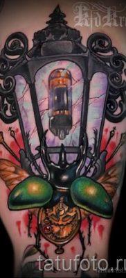 Фото тату фонарь для статьи про значение татуировки с фонарем – tatufoto.ru – 61