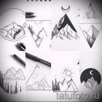 Эскиз для татуировки с треугольником - интересный вариант - tatufoto.ru - 14