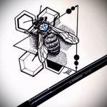 Эскиз для татуировки с треугольником - интересный вариант - tatufoto.ru - 38