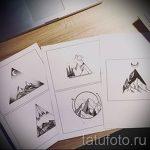 Эскиз для татуировки с треугольником - интересный вариант - tatufoto.ru - 46