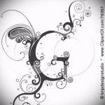 Эскиз тату буква для татуировки - вариант - tatufoto.ru - 23