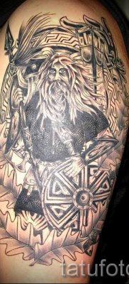 татуировка Валькирия на фото для статьи про значение тату – tatufoto.ru – 1