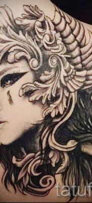 татуировка Валькирия на фото для статьи про значение тату – tatufoto.ru – 4