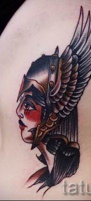 татуировка Валькирия на фото для статьи про значение тату – tatufoto.ru – 5