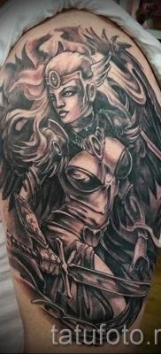 татуировка Валькирия на фото для статьи про значение тату – tatufoto.ru – 6