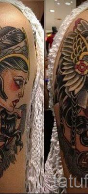 татуировка Валькирия на фото для статьи про значение тату – tatufoto.ru – 10