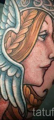 татуировка Валькирия на фото для статьи про значение тату – tatufoto.ru – 11