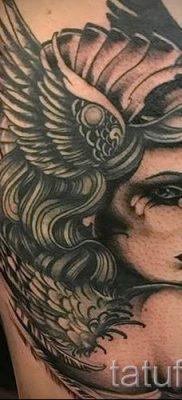 татуировка Валькирия на фото для статьи про значение тату – tatufoto.ru – 12
