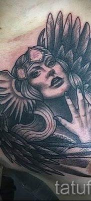 татуировка Валькирия на фото для статьи про значение тату – tatufoto.ru – 13