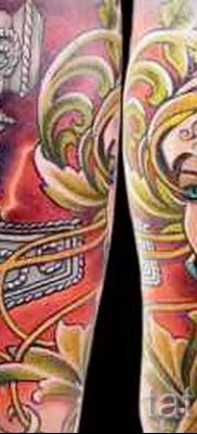 татуировка Валькирия на фото для статьи про значение тату – tatufoto.ru – 17