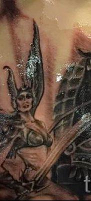 татуировка Валькирия на фото для статьи про значение тату – tatufoto.ru – 18