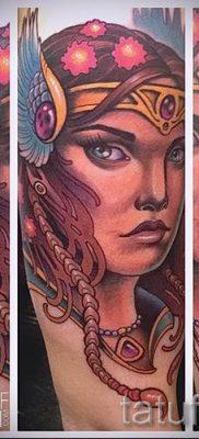 татуировка Валькирия на фото для статьи про значение тату – tatufoto.ru – 20