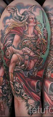 татуировка Валькирия на фото для статьи про значение тату – tatufoto.ru – 21
