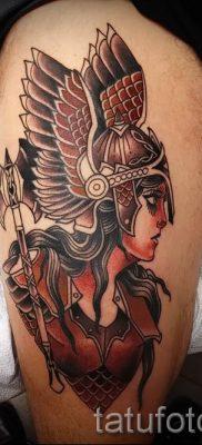 татуировка Валькирия на фото для статьи про значение тату – tatufoto.ru – 23