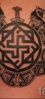 татуировка Валькирия на фото для статьи про значение тату – tatufoto.ru – 28