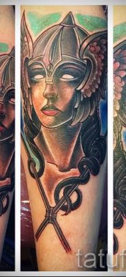 татуировка Валькирия на фото для статьи про значение тату – tatufoto.ru – 30