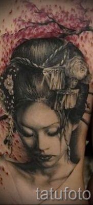 тату гейша фото для статьи про значение татуировки с гейшей – tatufoto.ru – 5