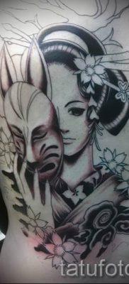тату гейша фото для статьи про значение татуировки с гейшей – tatufoto.ru – 12