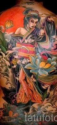 тату гейша фото для статьи про значение татуировки с гейшей – tatufoto.ru – 15