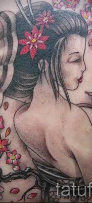 тату гейша фото для статьи про значение татуировки с гейшей – tatufoto.ru – 20