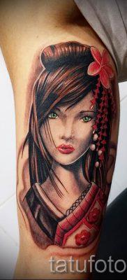 тату гейша фото для статьи про значение татуировки с гейшей – tatufoto.ru – 21