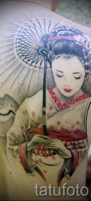 тату гейша фото для статьи про значение татуировки с гейшей – tatufoto.ru – 22