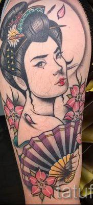 тату гейша фото для статьи про значение татуировки с гейшей – tatufoto.ru – 25