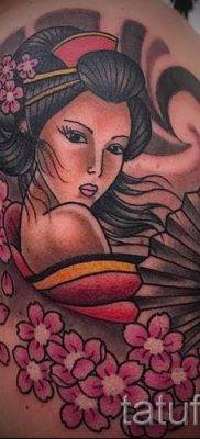 тату гейша фото для статьи про значение татуировки с гейшей – tatufoto.ru – 34