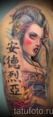 тату гейша фото для статьи про значение татуировки с гейшей – tatufoto.ru – 37