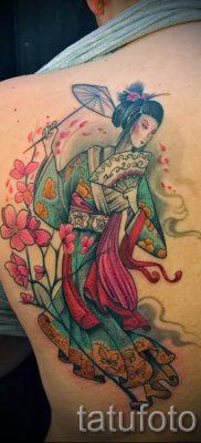 тату гейша фото для статьи про значение татуировки с гейшей – tatufoto.ru – 38