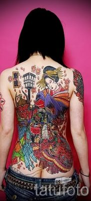 тату гейша фото для статьи про значение татуировки с гейшей – tatufoto.ru – 39