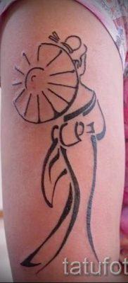 тату гейша фото для статьи про значение татуировки с гейшей – tatufoto.ru – 40