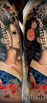 тату гейша фото для статьи про значение татуировки с гейшей – tatufoto.ru – 41