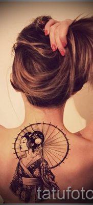 тату гейша фото для статьи про значение татуировки с гейшей – tatufoto.ru – 45