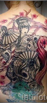 тату гейша фото для статьи про значение татуировки с гейшей – tatufoto.ru – 46