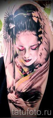 тату гейша фото для статьи про значение татуировки с гейшей – tatufoto.ru – 48