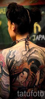 тату гейша фото для статьи про значение татуировки с гейшей – tatufoto.ru – 51
