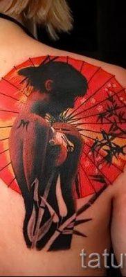 тату гейша фото для статьи про значение татуировки с гейшей – tatufoto.ru – 53