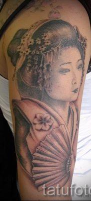 тату гейша фото для статьи про значение татуировки с гейшей – tatufoto.ru – 54