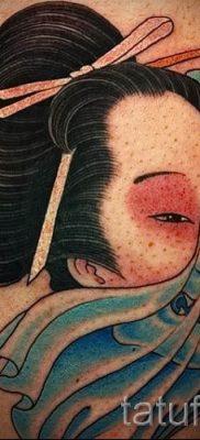 тату гейша фото для статьи про значение татуировки с гейшей – tatufoto.ru – 55