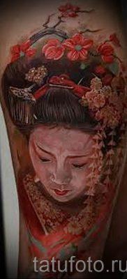 тату гейша фото для статьи про значение татуировки с гейшей – tatufoto.ru – 61