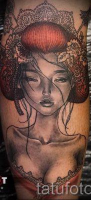 тату гейша фото для статьи про значение татуировки с гейшей – tatufoto.ru – 62
