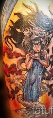 тату гейша фото для статьи про значение татуировки с гейшей – tatufoto.ru – 66