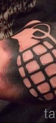 тату граната фото готовой татуировки для статьи про значение тату – tatufoto.ru 10